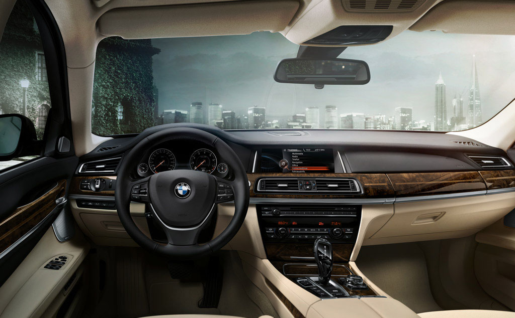 BMW 7 Series Interior Design