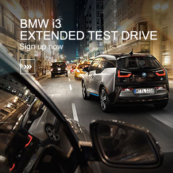 BMW i3 Extended Test Drive