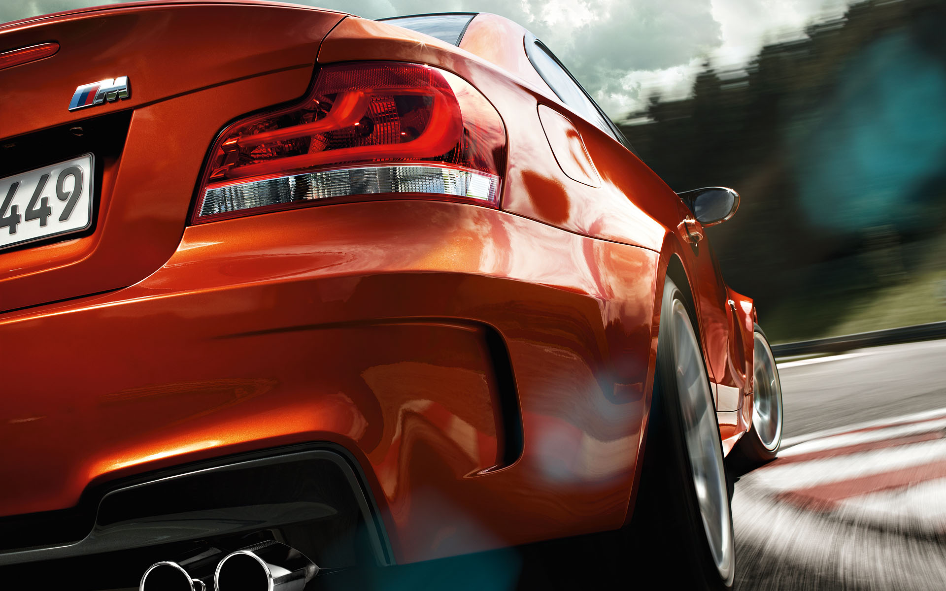 BMW Performance Driving School >> BMW 1 M COUPE : Images and Video