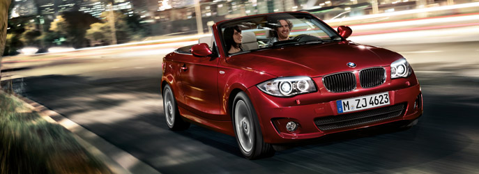 BMW 1 Series Convertible : Adaptive Headlights
