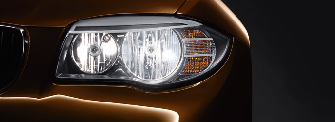 BMW 1 Series Convertible : Adaptive Headlights